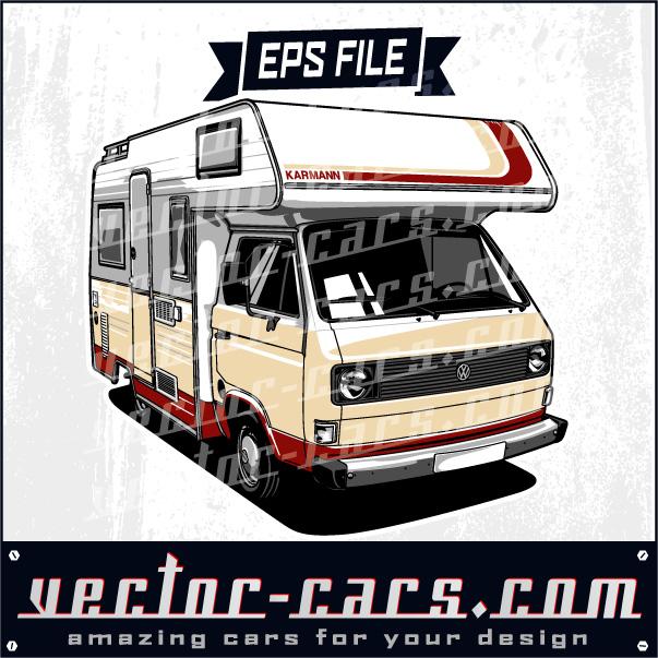 Volkswagen Karmann Coachbuilt Camper Van
